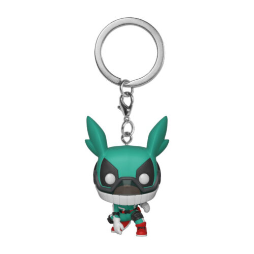 Deku with Helmet Funko Pocket Pop Keychain