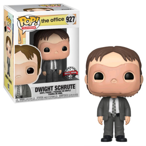 Dwight Schrute with Mask Exclusive Funko Pop