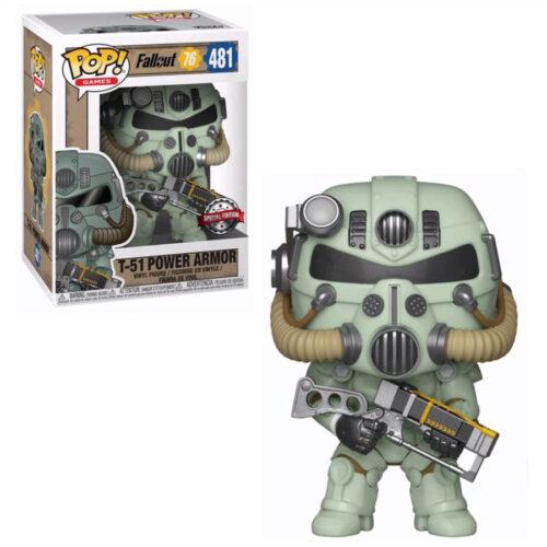 Green T-51 Power Armor Exclusive Funko Pop