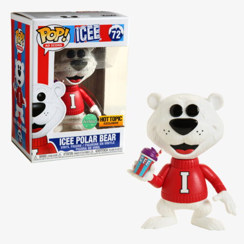 Icee Polar Bear Scented Funko Pop Hot Topic Exclusive