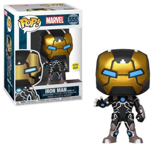 Iron Man Model 39 Funko Pop GITD