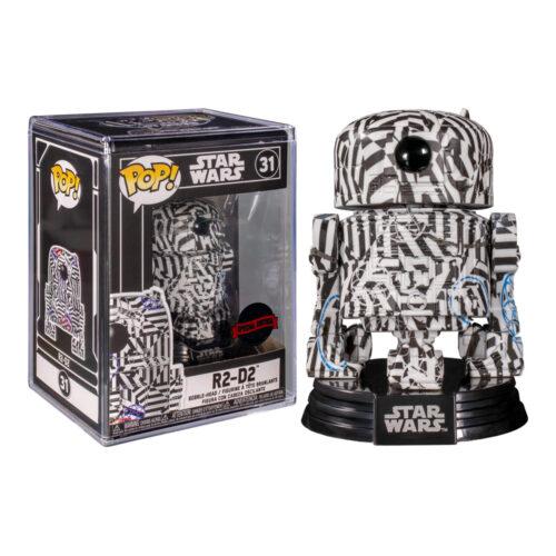 R2-D2 Futura Exclusive Funko Pop