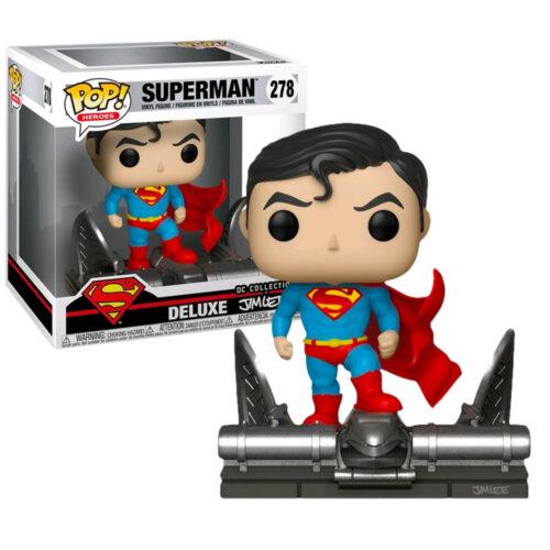 Superman Jim Lee Deluxe Funko Pop