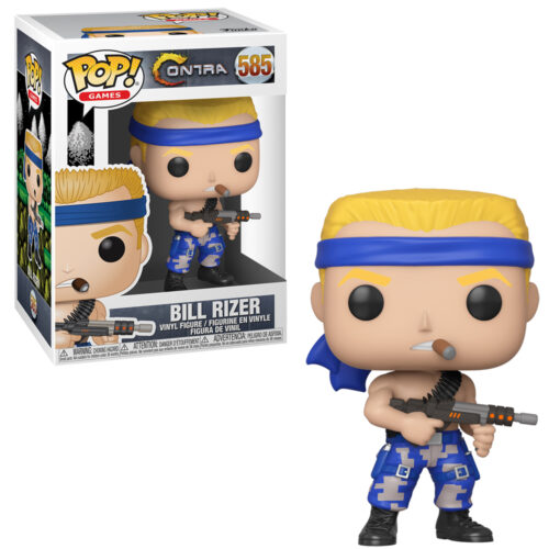 Bill Rizer Funko Pop