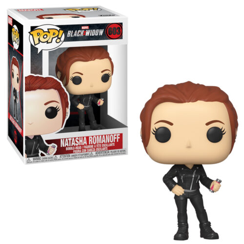 Black Widow Street Funko Pop