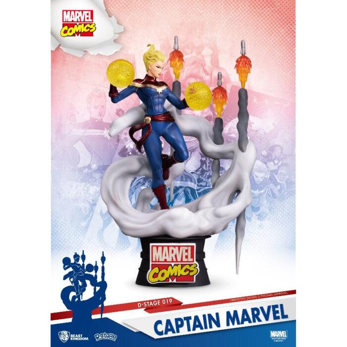 Captain Marvel Diorama Beast Kingdom