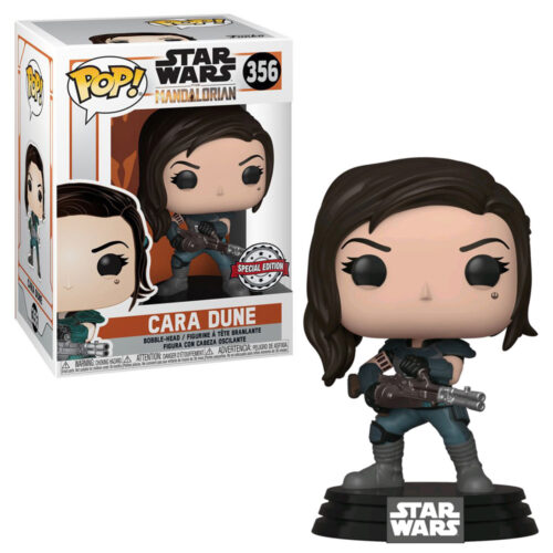 Cara Dune with Gun Exclusive Funko Pop