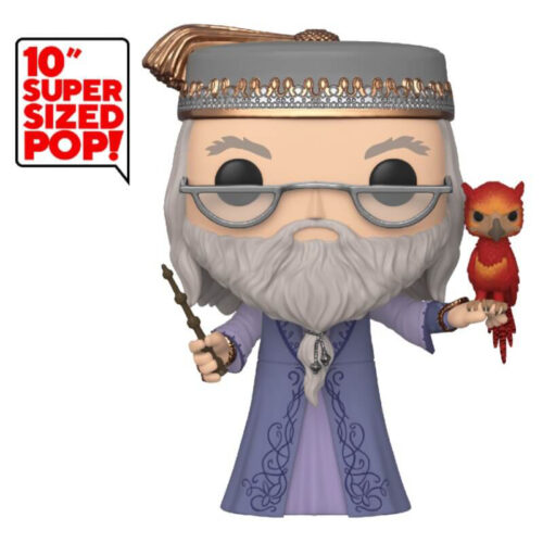 Dumbledore with Fawkes 10 inch Funko Pop