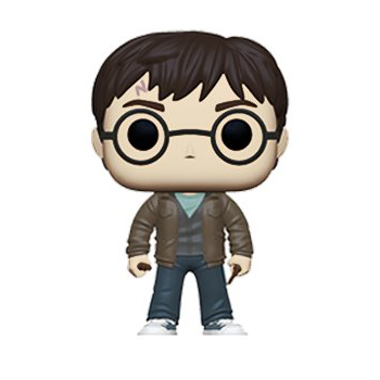 Harry with 2 Wands Exclusive Funko Pop