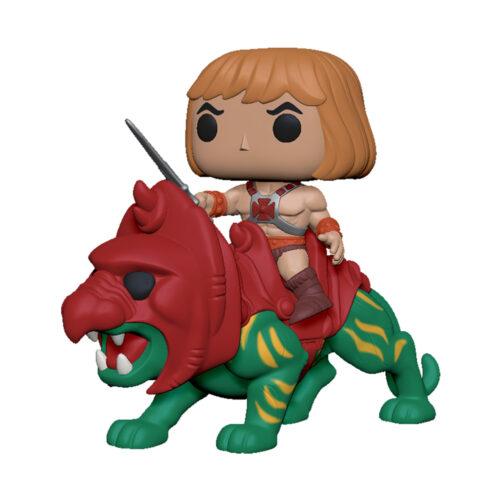 He-Man on Battle cat Funko Pop