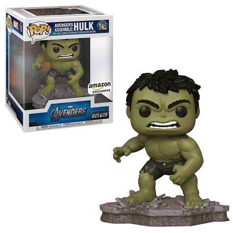 Hulk Deluxe Amazon Funko Pop