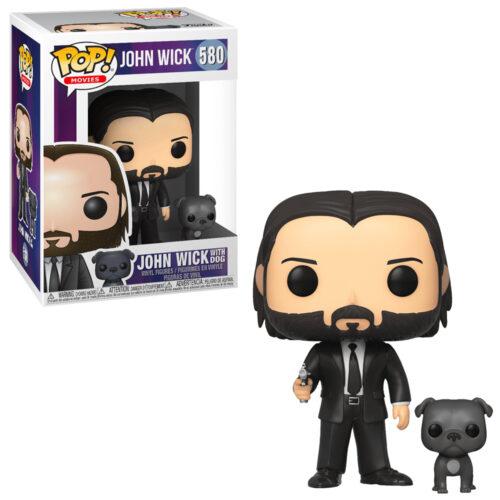 John Wick with Dog Funko Pop