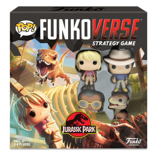 Jurassic Park Funkoverse Strategy Game