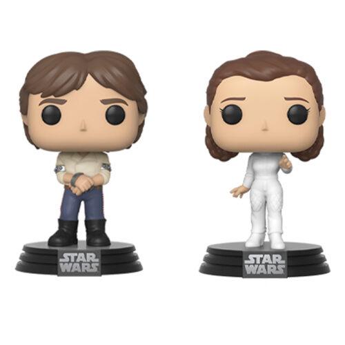 Star Wars Han and Leia 2PK Funko Pop