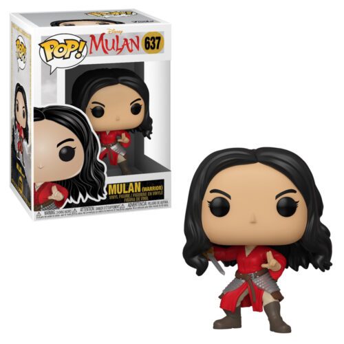 Warrior Mulan Funko Pop