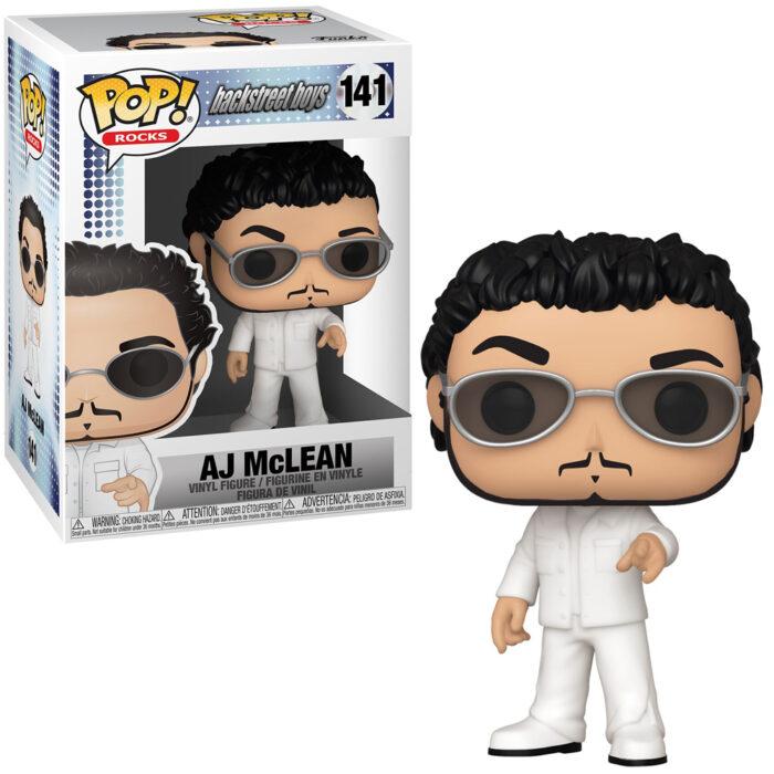 AJ McLean Backstreet Boys Funko Pop