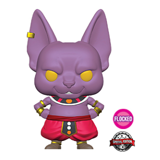Beerus Flocked Funko Pop