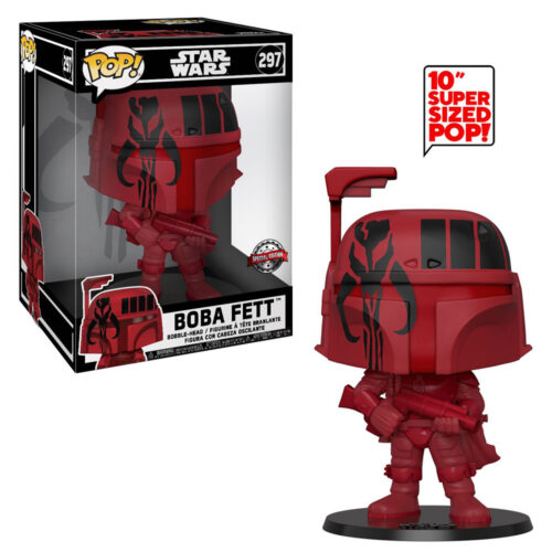 Boba Fett Red 10 inch Funko Pop