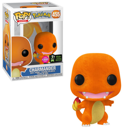Charmander Flocked ECCC Funko Pop