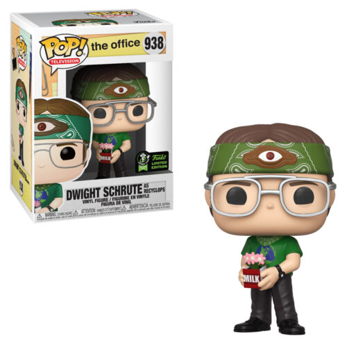 Dwight Schrute as Recyclops ECCC Funko Pop