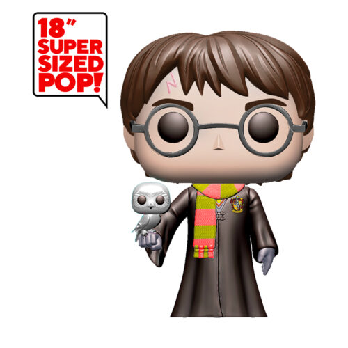 Harry Potter with Hedwig 18 inch Funko Pop