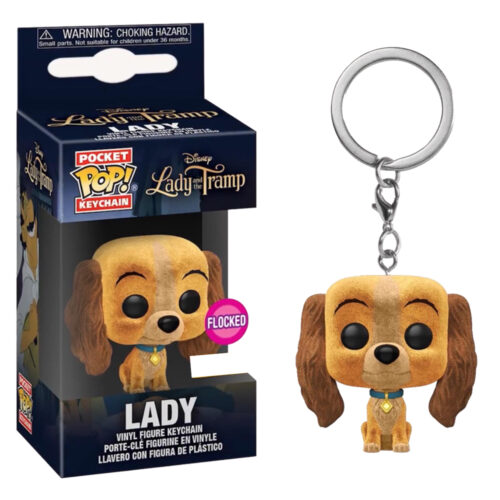 Lady Flocket Pocket Pop Keychain Funko