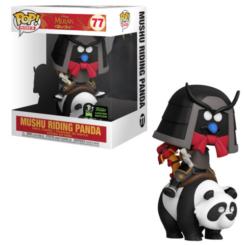 Mushu Riding Panda 6 inch Funko Pop ECCC