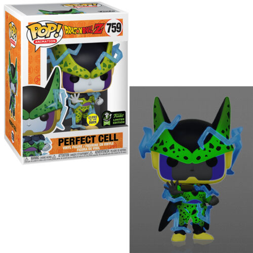 Perfect Cell GITD ECCC Funko Pop