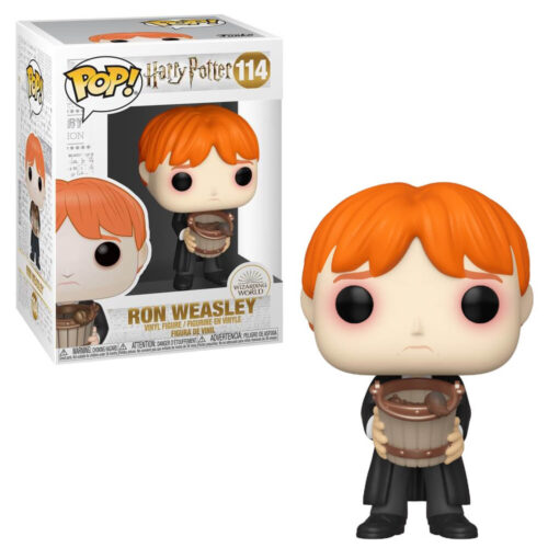 Ron Weasley with Slugs Funko Pop
