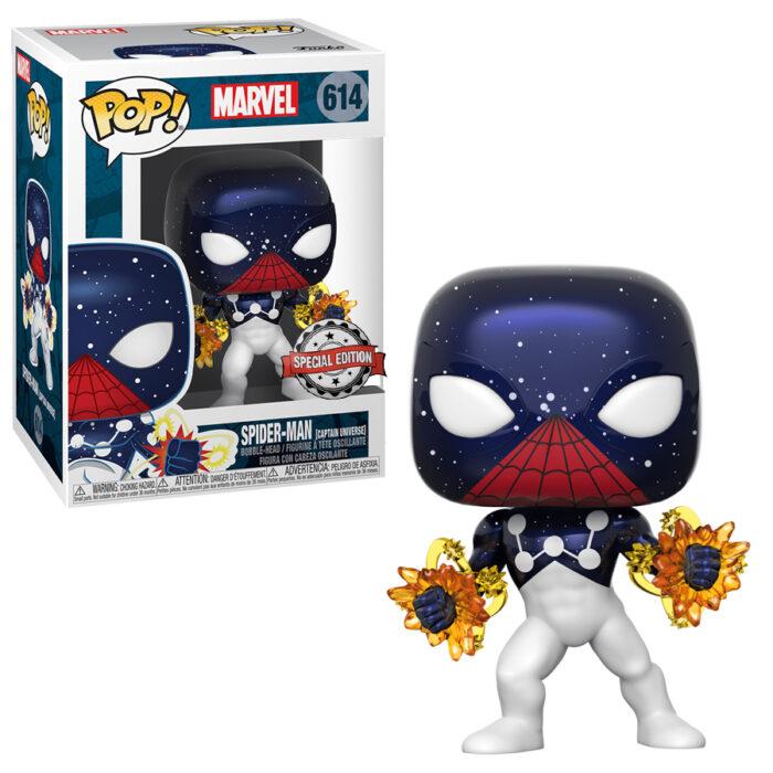 Spider-Man Captain Universe Funko Pop