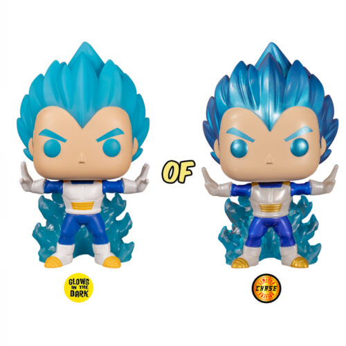 Vegeta Powering Up Funko Pop