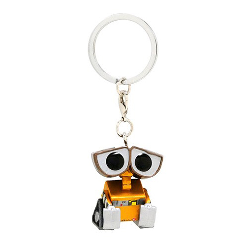 Walle-E metallic Pocket Pop Keychain