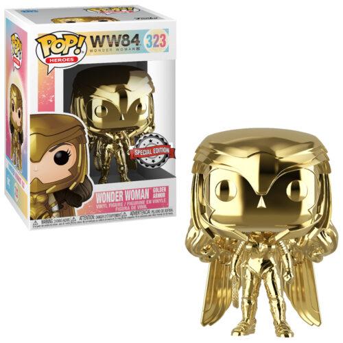 Wonder Woman Gold Chrome Funko Pop