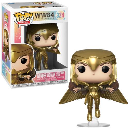 Wonder Woman (Gold Flying Pose) Funko Pop