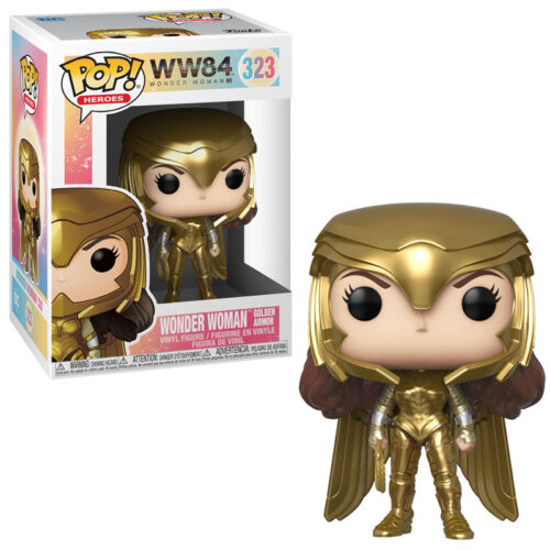 Wonder Woman (Gold Power Pose) Funko Pop