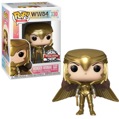 Wonder Woman Golden Armor Helmet Funko Pop