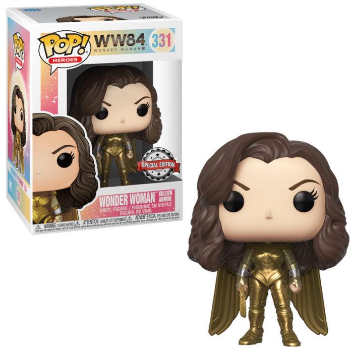 Wonder Woman Golden Armor (Metallic) Funko Pop