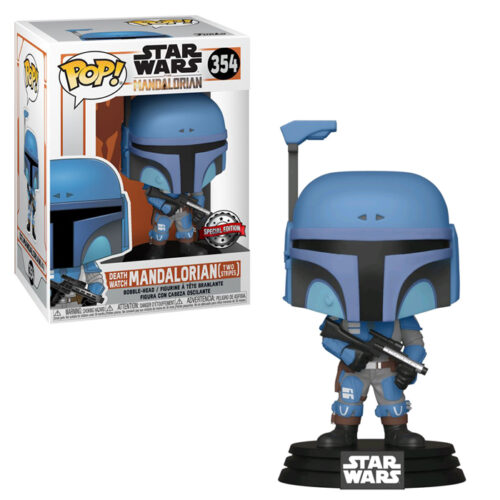 Death Watch Mandalorian Two Stripes Funko Pop Excl