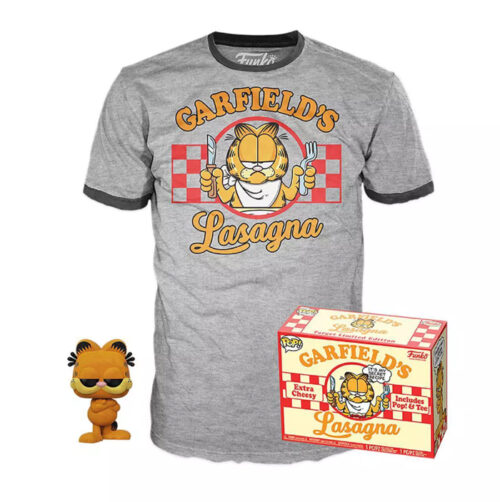 Garfield Flocked Collectors Box Funko
