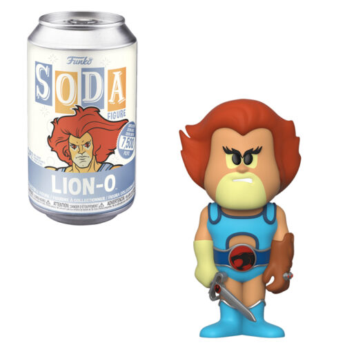 Lion-O Vinyl Soda Funko