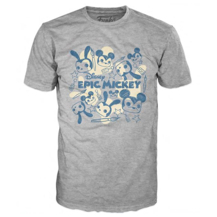 Loose POP! Tees Funko Epic Mickey Mouse