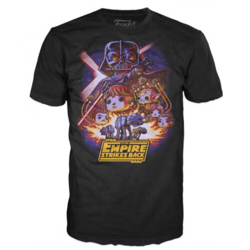 Loose POP! Tees Funko The Empire Strikes Bacj