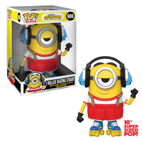 Roller Skating Stuart Minion10 inch Funko Pop