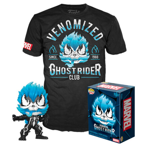 VENOMIZED GHOST RIDER GITD COLLECTORS BOX