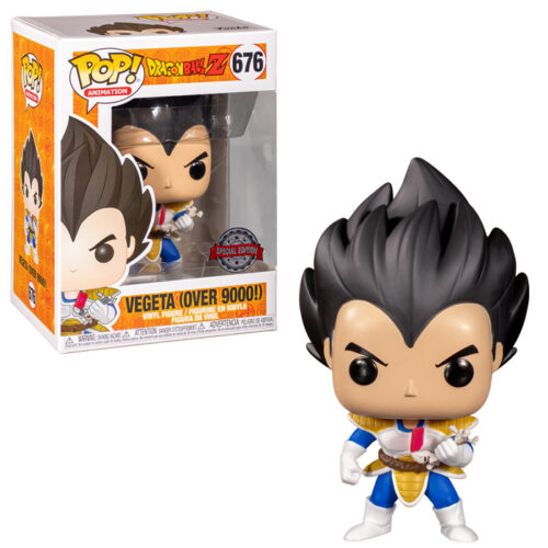 Vegeta over 9000 Funko Pop