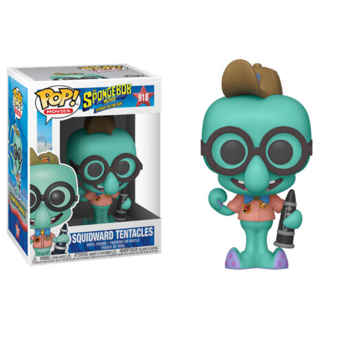 Squidward in Camping Gear Tentacles Funko Pop