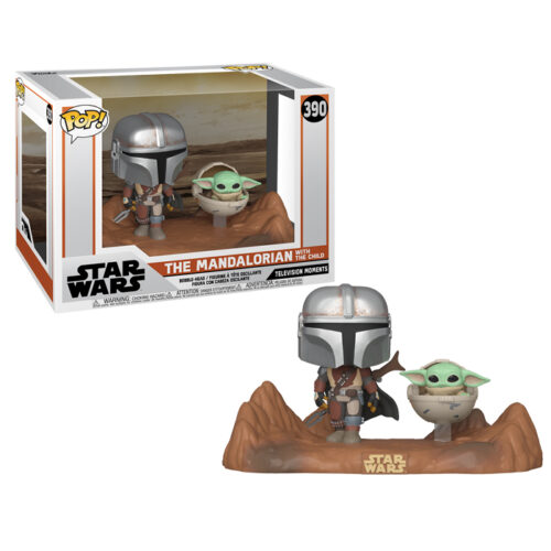 THe Mandalorian and the child funko pop
