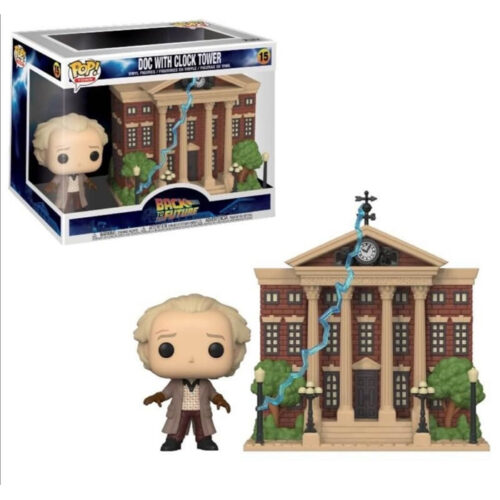 Doc with Clock Tower Funko Pop