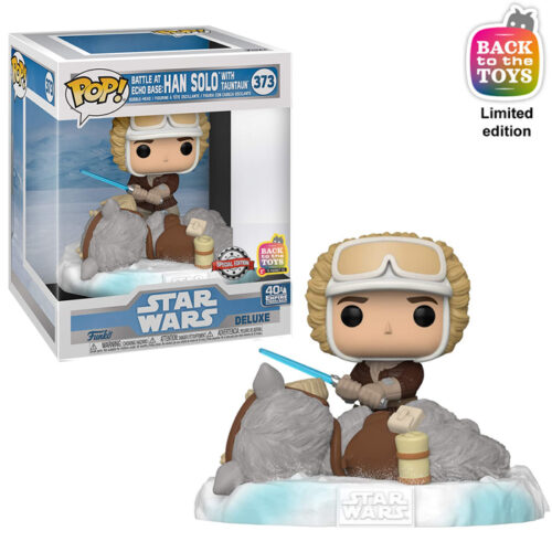 Han Solo with TaunTaun Funko Pop 1
