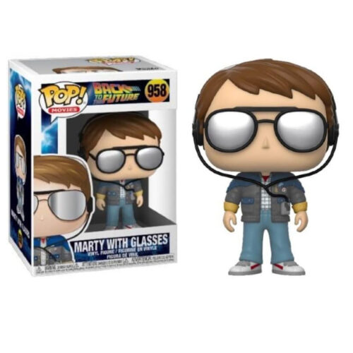 Marty with Glasses Funko Pop